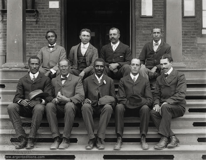 Wordless Wednesday: George Washington Carver and Tuskegee Staff